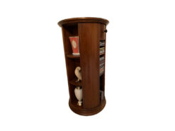 Round Cupboard, Column Shape, Solid Wood