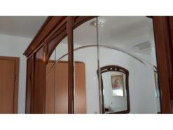 Bedroom Closet, Solid Wood, Mirror