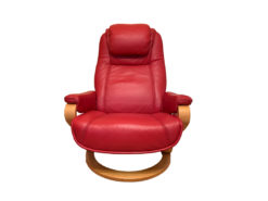 Zero-Stress Relaxation Armchair, Real Leather