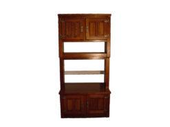 Wood Cabinet, Lightning, Midcentury