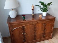 Furniture Set: Commode, Nightstand, Mirror