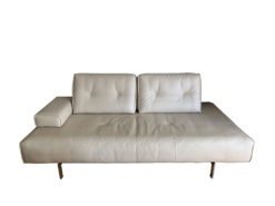 Rolf Benz, Designer Sofa, Typ Dono, Creme