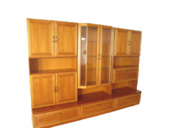 Wall Unit System, Solid Wood