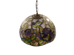 Ceiling Lamp / Hanging Lamp, Colored Glass