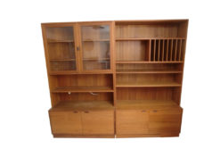 4 Chests Of Drawers With Attachments, Teakwood