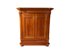 Heavy Cabinet, Made Of Solid Cherry Wood