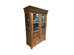 Display Cabinet, Solid Wood, Country Style