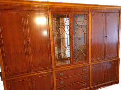 Heldense Living Room Cabinet, 2x3m, Solid Wood