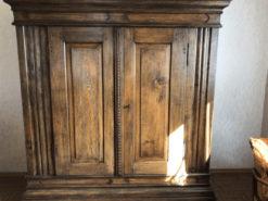 Antique Cabinet, Solid Wood, 185cm x 192cm