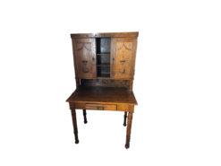 Small Antique Secretary, Solid Wood