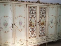 6-Door Bedroom Closet, Baroque Style