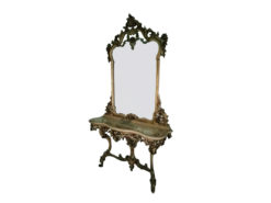 Mirror & Stool For The Hallway Or Dressing Room