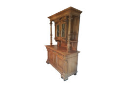 American Buffet, Antique, Solid Wood, 1890