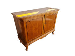 Commode, 2 Doors, Solid Wood, Living-/Dining Room