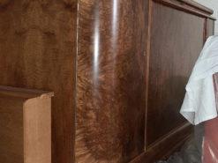 Antique Restored Sideboard, Solid Walnut Wood