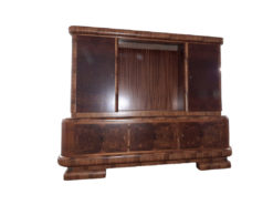 Antique Restored Display Cabinet, Solid Wood