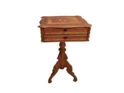 Antique Side Table, Solid Wood
