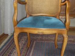 Upholstered Armchairs, Solid Wood, Warrings