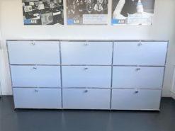 White Designer Sideboard, USM, Living Room