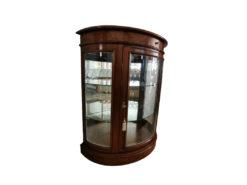 Display Cabinet, Walnut Wood, Midcentury