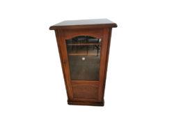 Music Cabinet, Walnut Wood, 1960er/1970er