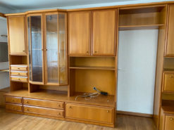 Unit Wall, Solid Wood, Living Room
