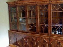 Display Cabinet, Solid Wood, Living Room