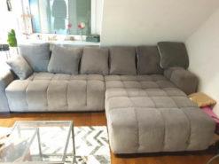 Grey Designer Corner Sofa, Living Room