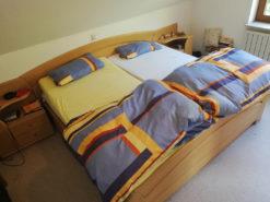 Bedroom Furniture Set, Bed, Closet, Solid Alder