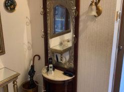 Mirror Wardrobe, Solid Wood, Hall