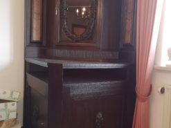 Corner Cabinet, Solid Wood, Late19th Century