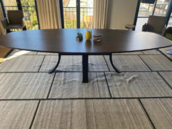Designer Dining Table, Oval, Solid Wood