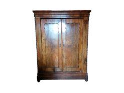 2-door Closet, Solid Walnut Wood, Bedroom
