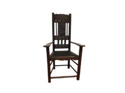 Fischermann's Wood Chair, Carvings