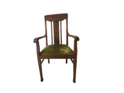Upholstered Wood Chair, Dining Room