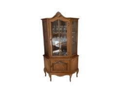 Living Room, Display Cabinet, Solid Wod