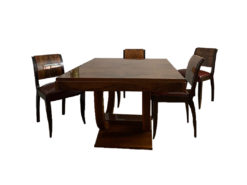 Art Deco, Dining Table, 6 Chairs, France
