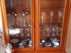 Display Cabinet, Solid Wood, Midcentury