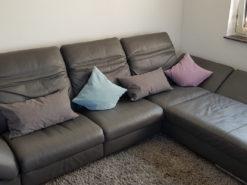 Himolla Leather Corner Sofa, Living Room