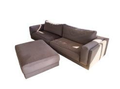 Sofa, Rosewood, Velvet Cover, Stool/Bench, Living Room