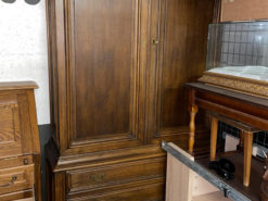 Cabinet, Living Room, Dining Room, Solid Wood