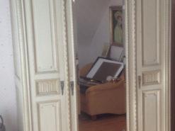 Bedroom Closet, Mirror, King Size Louis XVI