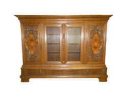 Display Cabinet, Bookcase, Solid Wood, Study