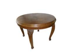 Round Dining Table, Solid Wood, 100 x 100cm