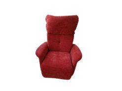 Red TV Armchair Himolla Easy Swing 7708/78N-XL