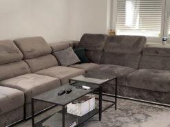 Upholstered Corner Sofa, Living Room