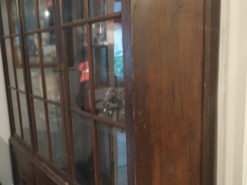 Antique Display Cabinet, Bookcase, Solid Wood