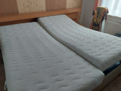 Double Bed, Incl. Matresses And Slatted Frame