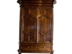 Baroque Cabinet, Living Room, Floor, Solid Wood