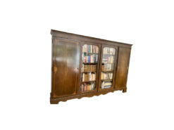 Display Cabinet, Bookcase, Solid Wood